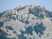 Верхняя часть горы Стоковые Фото