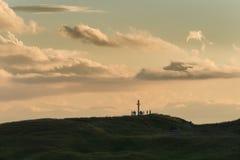 Верхняя часть горы Стоковые Изображения