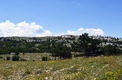 Верхняя часть горы AI-Petri Стоковая Фотография