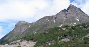Верхняя часть гор, Альпы Стоковое фото RF