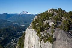 Верхняя часть главной горы стоковая фотография