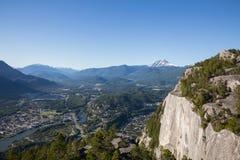 Верхняя часть главной горы! стоковое фото rf