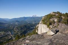 Верхняя часть главной горы! стоковая фотография