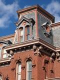 верхняя часть дома georgetown стоковые изображения