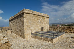 Верхняя часть замка Paphos Стоковые Изображения RF