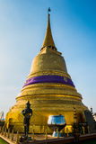 Верхняя часть золотой горы (Wat Saket), Таиланда Стоковое фото RF