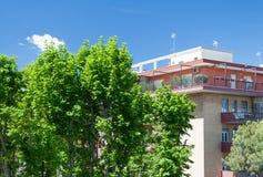 Верхняя часть здания Стоковое Изображение RF
