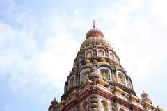 Верхняя часть индусского виска Стоковое фото RF