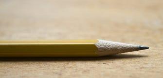 верхняя часть карандаша крупного плана Стоковые Изображения RF