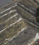 Верхняя часть кирпичной стены стоковое фото rf