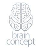 Верхняя часть концепции мозга Стоковые Фотографии RF