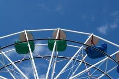 Верхняя часть колеса ferris стоковая фотография