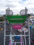 Верхняя часть колеса ferris Стоковое Изображение