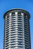 Верхняя часть круглой башни кондо Стоковое Фото