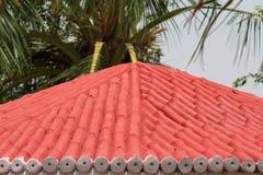 Верхняя часть крыши дома пребывания парка Стоковое Изображение RF