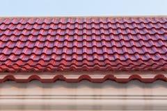 Верхняя часть крыши старого стиля Стоковые Изображения RF