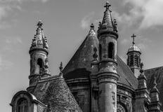 Верхняя часть крыши церков стоковые фото