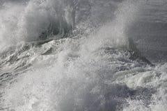 Верхняя часть ломая волн Стоковое фото RF