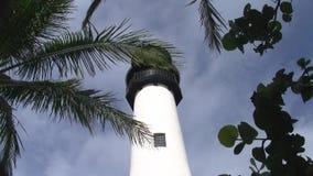 Верхняя часть маяка Флориды накидки сток-видео