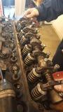 Верхняя часть на моторе Стоковые Изображения RF