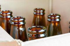 Верхняя часть пивной бутылки Стоковые Фотографии RF