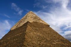 верхняя часть пирамидки Стоковое Изображение