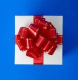 верхняя часть подарка коробки причудливая Стоковые Изображения