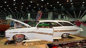 Верхняя часть 1961 пузыря Chevrolet Impala Стоковые Фото
