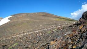 верхняя часть пустыни красная каменная Стоковое Фото