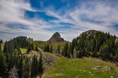 верхняя часть России гор caucasus Стоковое фото RF