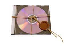 верхняя часть секрета dvd Стоковое Фото