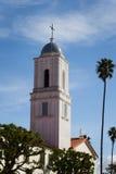 Верхняя часть сини belltower церков Стоковые Фото