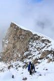 верхняя часть спуска Стоковая Фотография