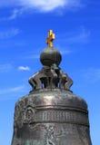 Верхняя часть старого колокола Стоковая Фотография RF