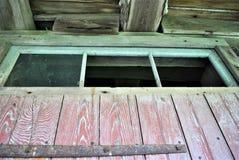 Верхняя часть старой двери Стоковая Фотография