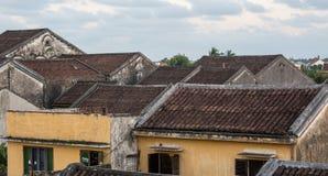 Верхняя часть старых домов Стоковые Изображения RF