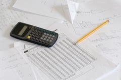 верхняя часть студента стола Стоковая Фотография RF