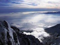 Верхняя часть Словакии Стоковое Фото