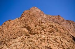 Верхняя часть ущелья Todra, Марокко Стоковые Фотографии RF