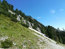 Верхняя часть холма Стоковое Изображение
