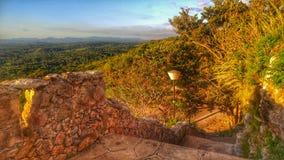 Верхняя часть холма bacunayagua Стоковые Фото