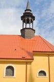 Верхняя часть церков Стоковые Фото