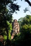 Верхняя часть accient виска Angkor стоковое фото rf