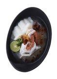 Верхняя часть cripingpath супа лапши Вьетнама Стоковое Изображение RF