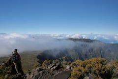 верхняя часть hiker Стоковое Изображение