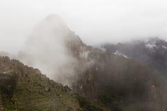 Верхняя часть Huayna Picchu Стоковые Фото
