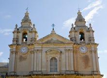 верхняя часть malta церков Стоковое Изображение