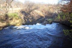 верхняя часть Minnehaha падает в Минесоту Стоковое фото RF
