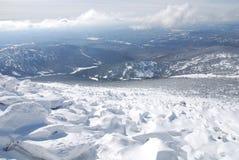 верхняя часть mustag горы Стоковые Изображения