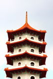 верхняя часть pagoda Стоковое фото RF